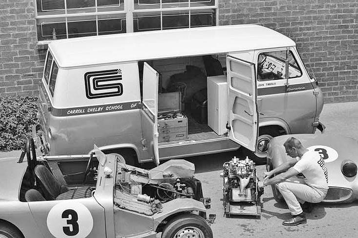1964 Ford Econoline (Shelby Racing School)