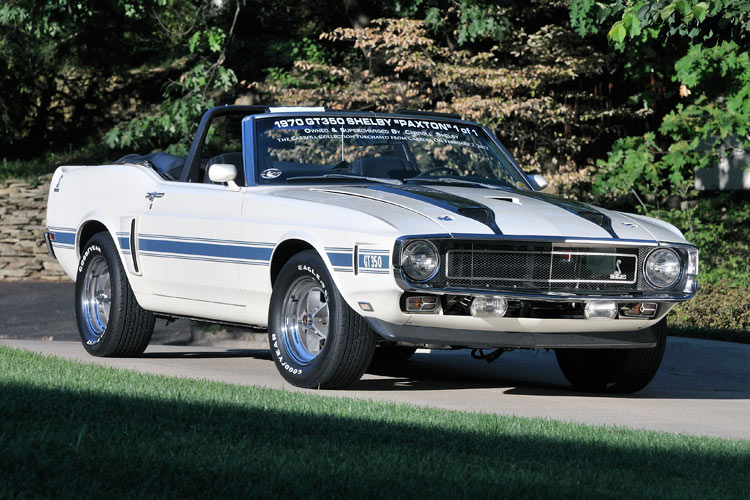 Ford Mustang Lease >> 1970 GT350 Paxton Supercharged Convertible – The Carroll Collection
